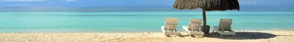 Ab in den Urlaub am Sand Strand