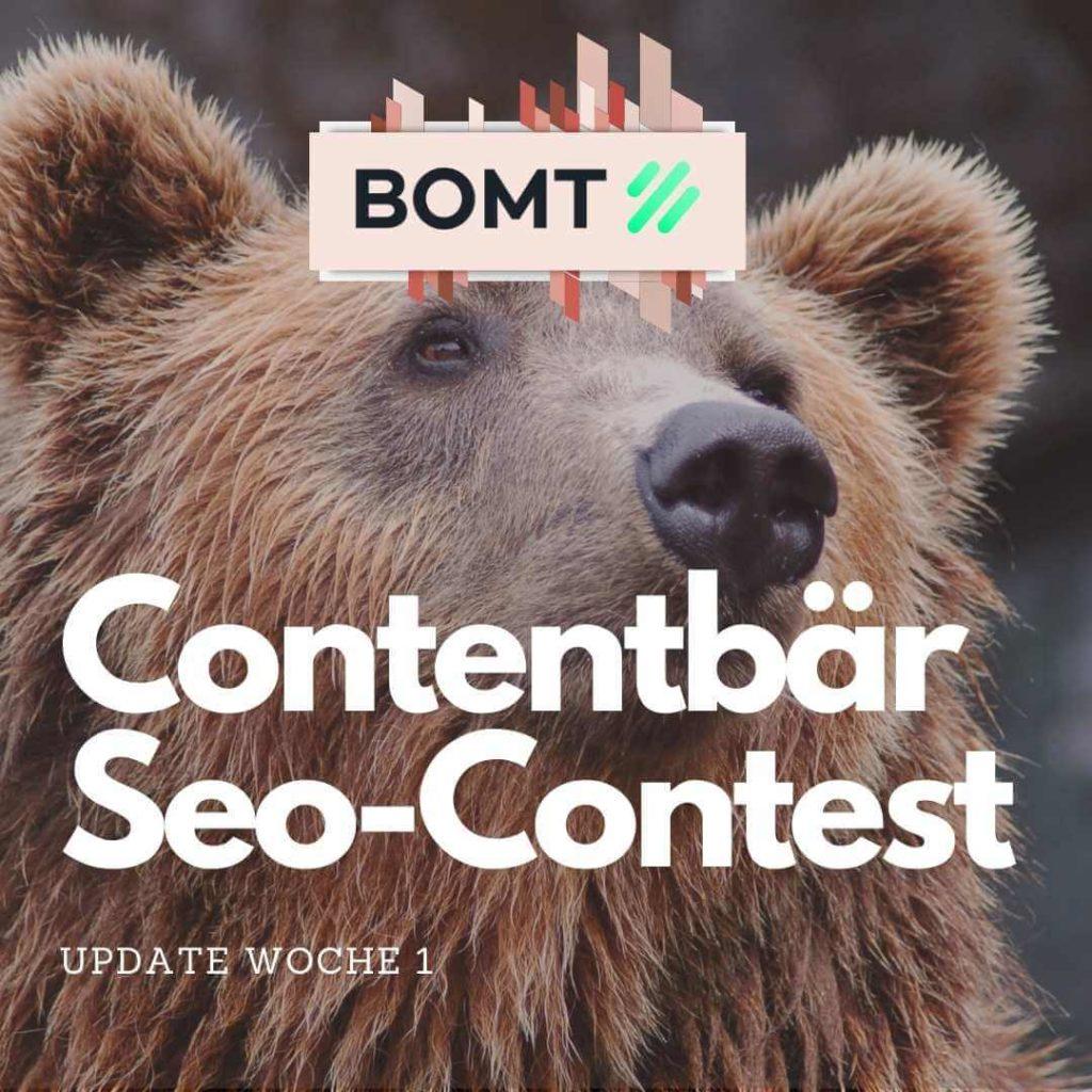 Contenbär SEO Contest Woche 1